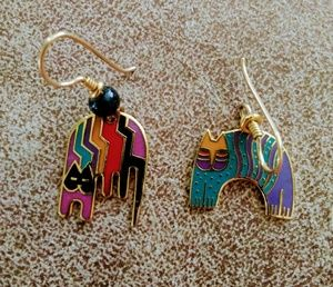 Laurel Burch Mismatched Earrings One of a Kind